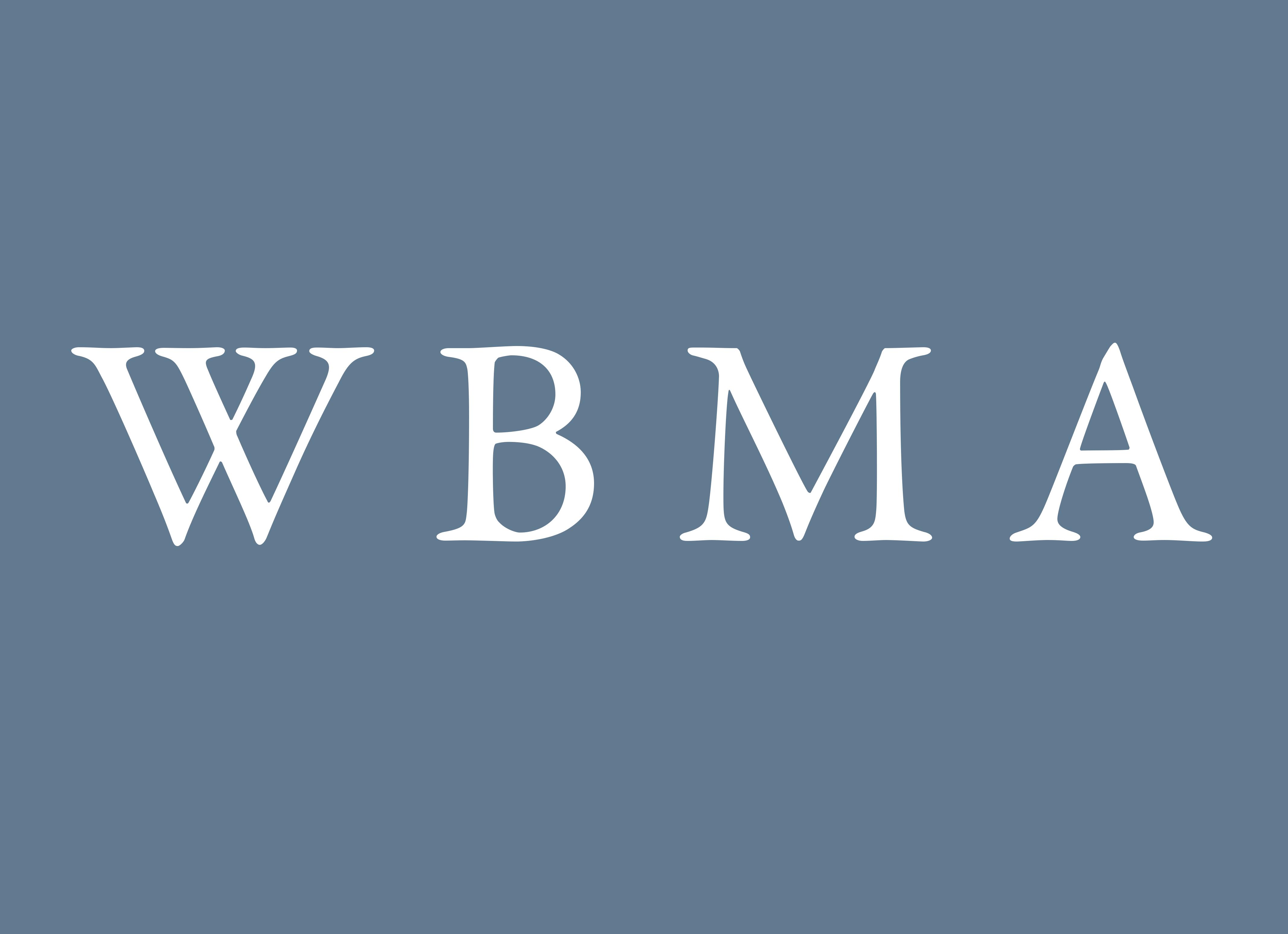 WBMA logo on homepage grid